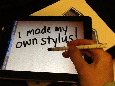 DIY stylus for a touch screen | ARTZCOOL'S BLOG!