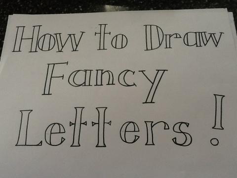 End Of Letter Fancy