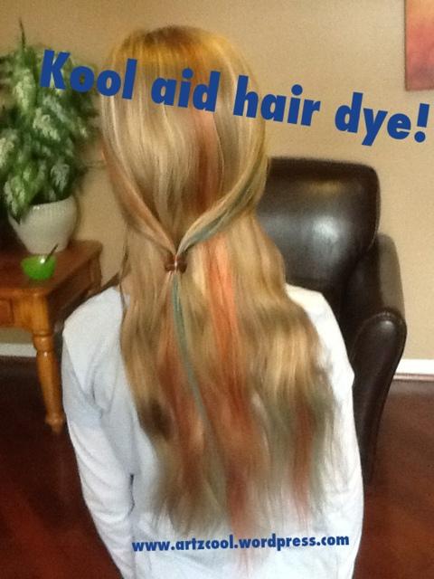 Temporary Hair Colour Kool Aid Dye Artzcools Blog