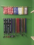 Medal and ribbon display!