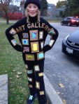 How to dress up as an Art Gallery!