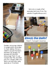 target game challenges at home
